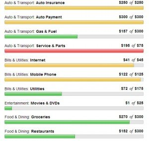 Mint Budgeting
